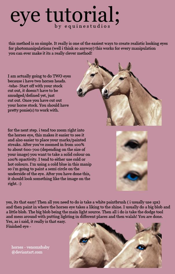 Eye Painting tutorial by equinestudios