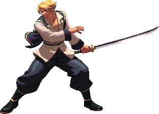Last Blade 2: Kaede KoFXII style by steamboy33