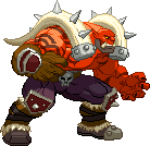 Garrosh - Capcom style by steamboy33