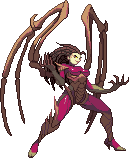 Kerrigan - Capcom style by steamboy33