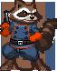 Rocket Raccoon by steamboy33