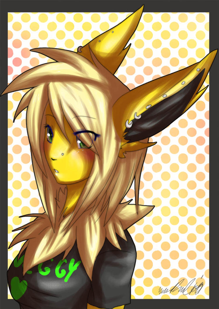 Anthro fox girl