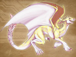 Dragon by Tartii