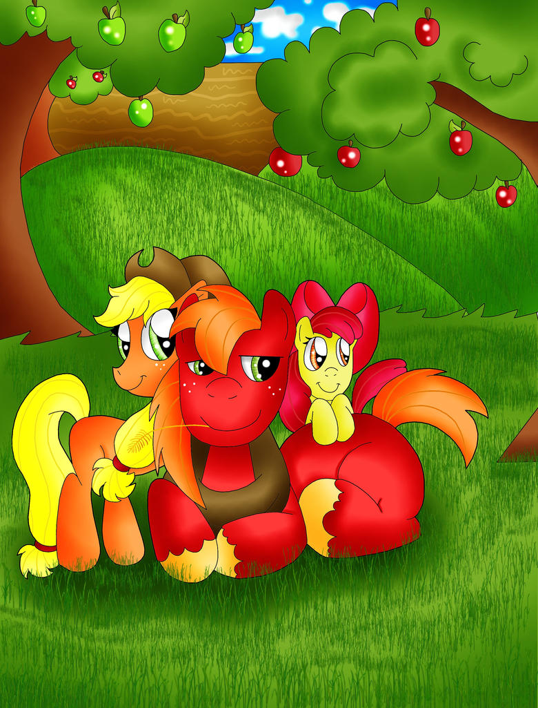 Apple Siblings by TheRealPennyLane