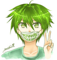 NEW DEV ID~ featuring GReeeeN! :D by ama-chii