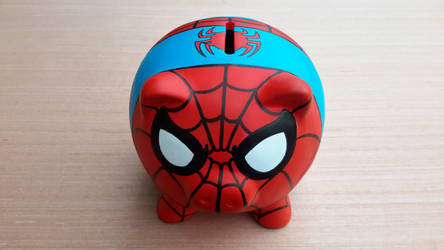 Spiderman Piggy Bank