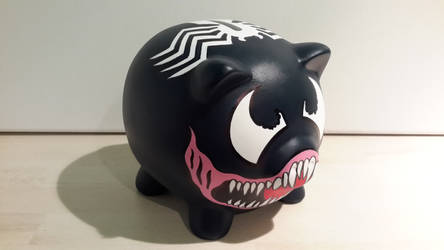 Venom Piggy Bank