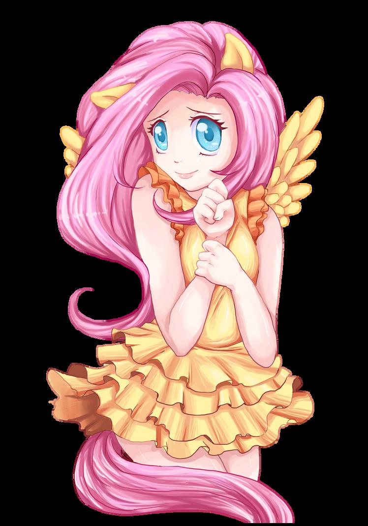 My little pony anime fluttershy