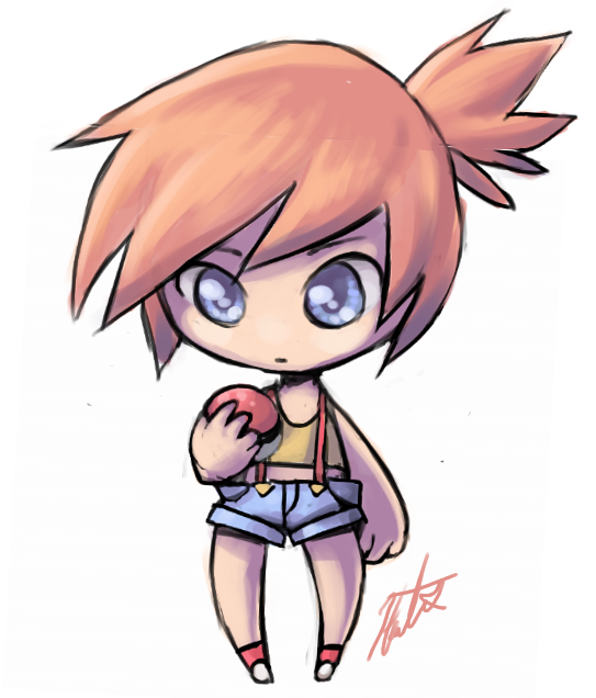 Misty Chibi by Syertse