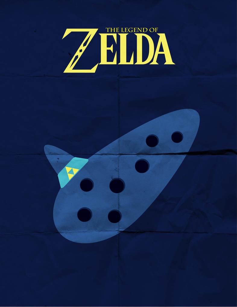 Minimalist Classroom Zelda ~ Ocarina of time minimalist by theharlequinhatter on deviantart