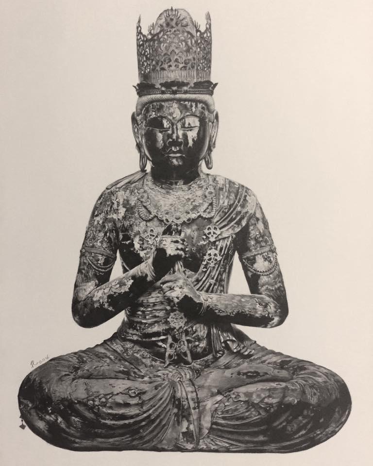 Maha-vairocana by paullung