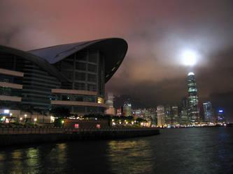 HK skyline at night 2 by paullung