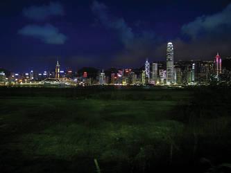 Hong Kong skyline again by paullung