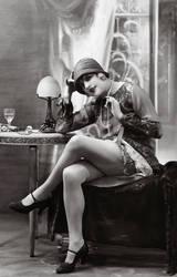 Vintage Stock - Flapper