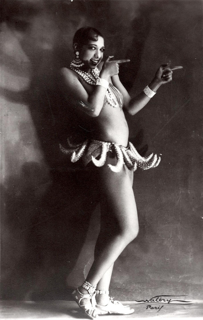 Vintage Stock -Josephine Baker by Hello-Tuesday