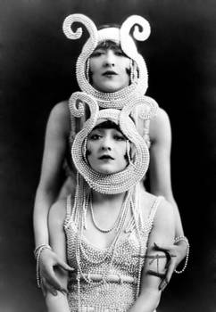 Vintage Stock - Dolly Sisters
