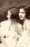 Vintage Stock-Fairbank sisters