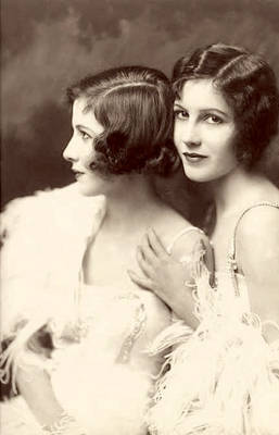 Vintage Stock-Fairbank sisters