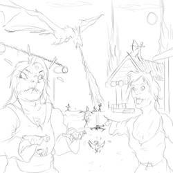 Sketch - Riverwood Menace