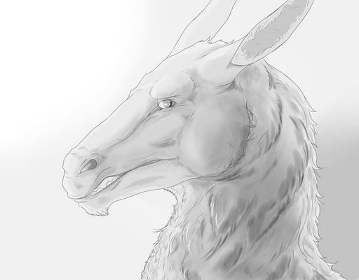 Horse-Dragon Creature