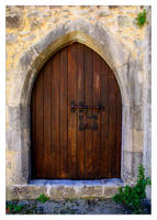 Leiria Palace Old Door by FilipaGrilo