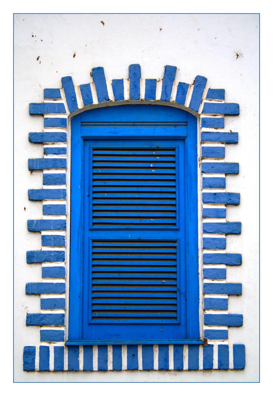 Blue Window by FilipaGrilo