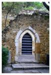 S.Jorge Castle Old Door