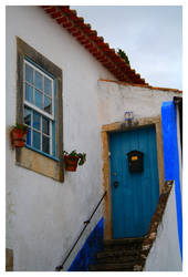 Obidos Old Door and Window