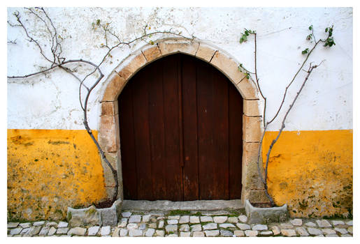 Obidos Old Door II