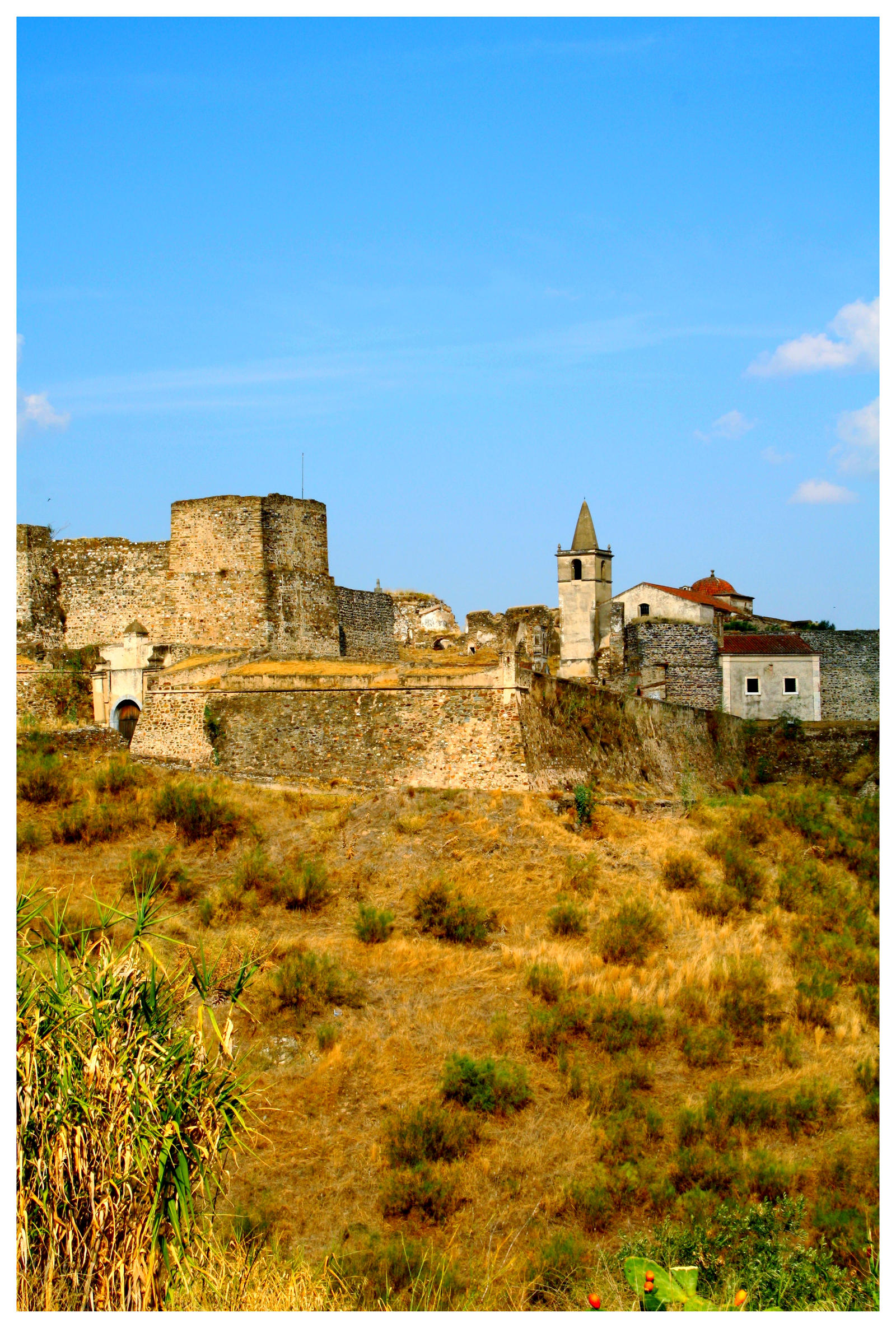 Juromenha Fortress III by FilipaGrilo
