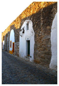 Evora Old Houses