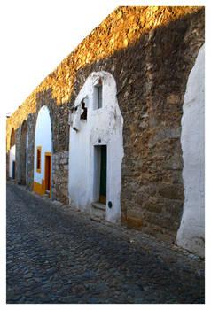 Evora Old Houses