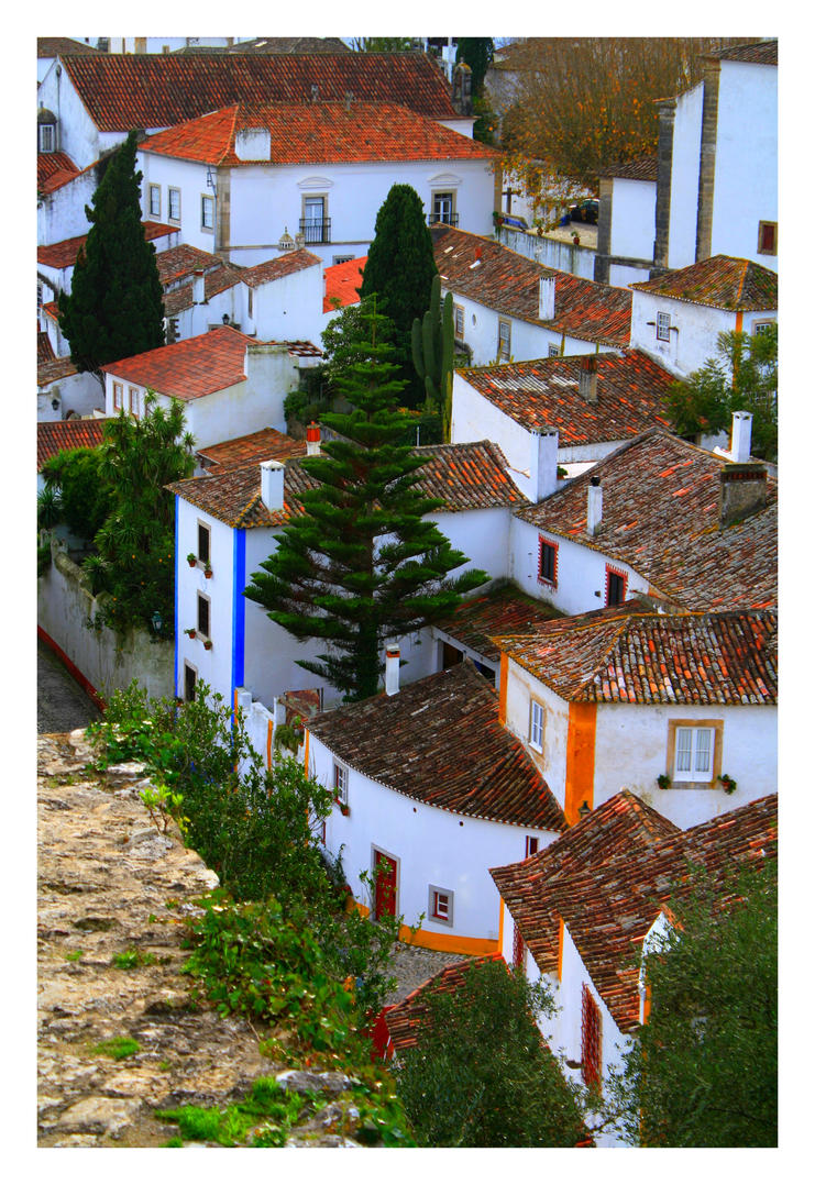 Obidos View IX by FilipaGrilo