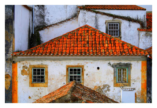 Obidos Old Window I