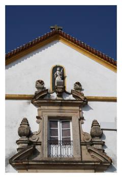 Sto. Antonio Church Window