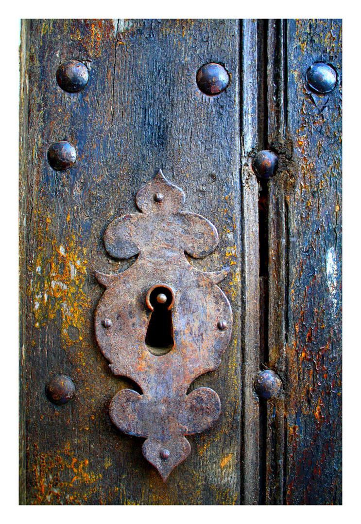 Old Lock I - Castelo de Vide by FilipaGrilo