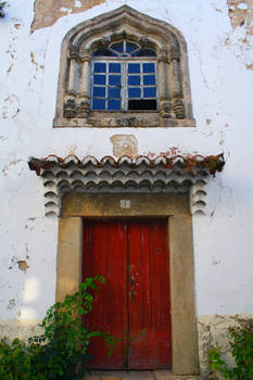 Old Window and Door - Marvao