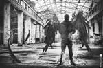 Fallen Angel (B/W)
