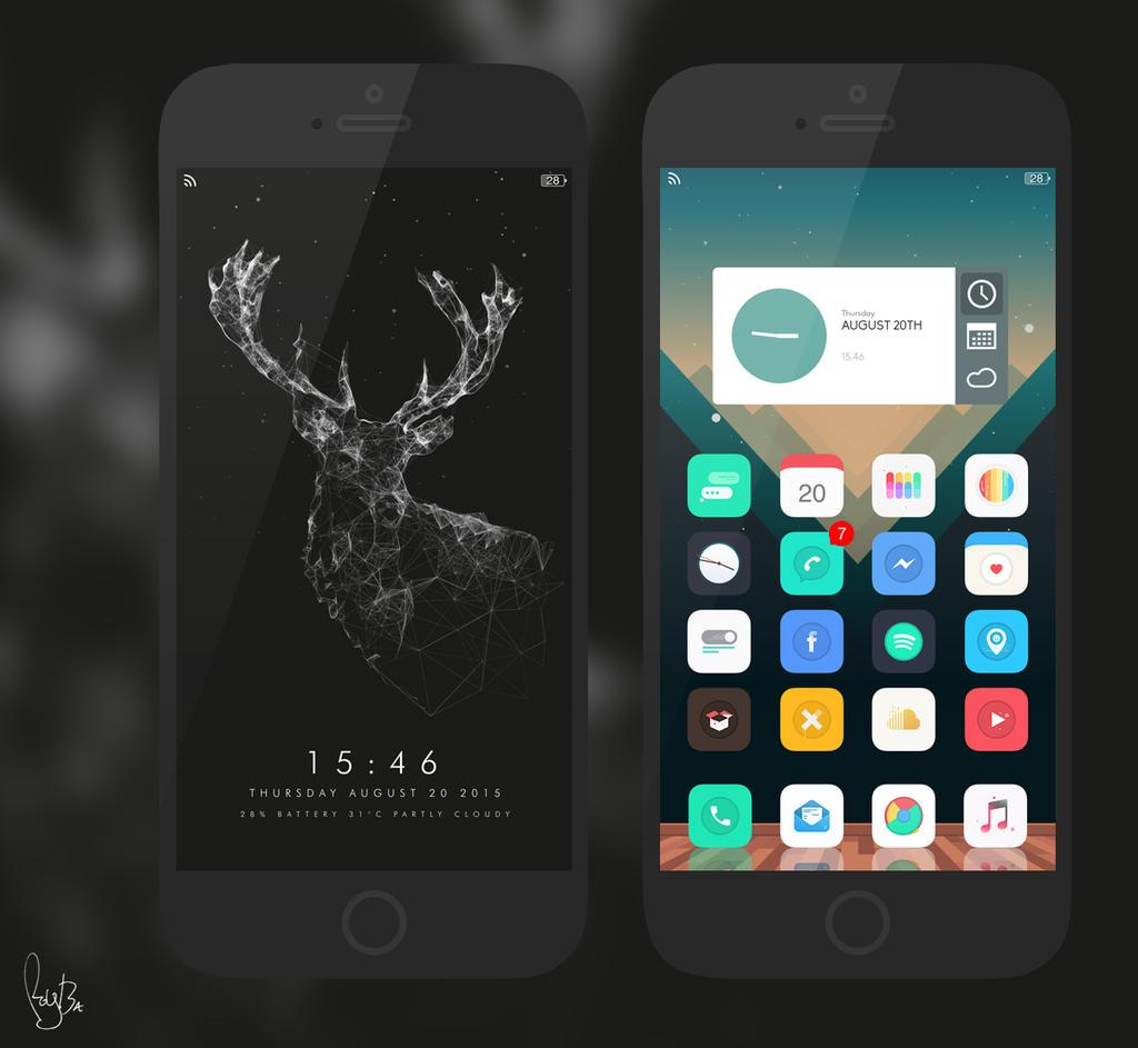 My iPhone 6 Setup by Roy-Ba