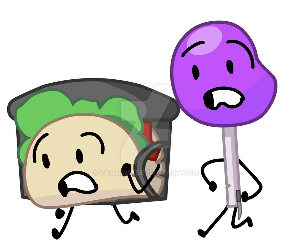 Taco And Lollipop (3/64?) By Wertem1