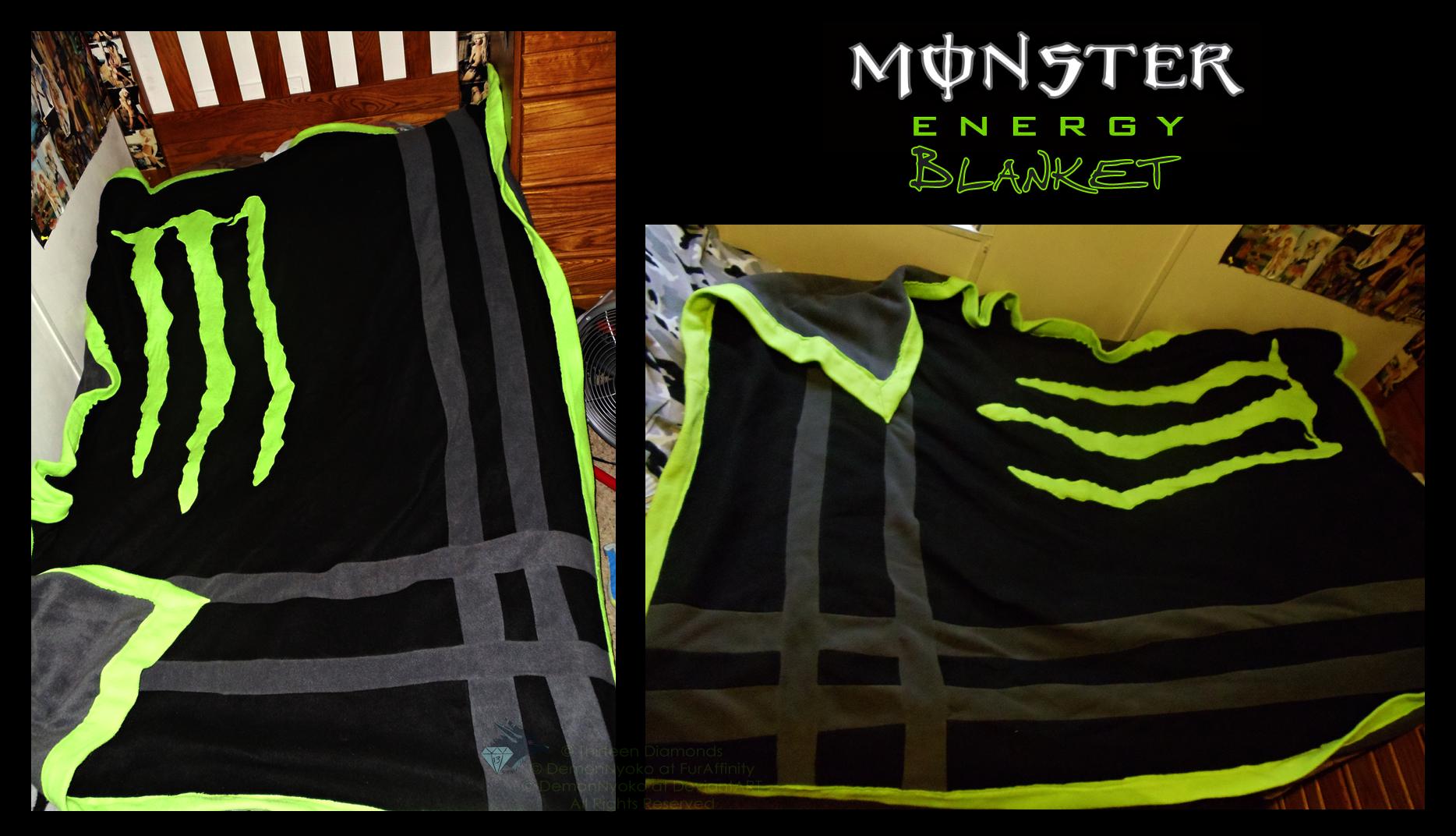 Monster Energy Kawasaki Bedding