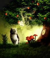 Cat Fairy by msaric10