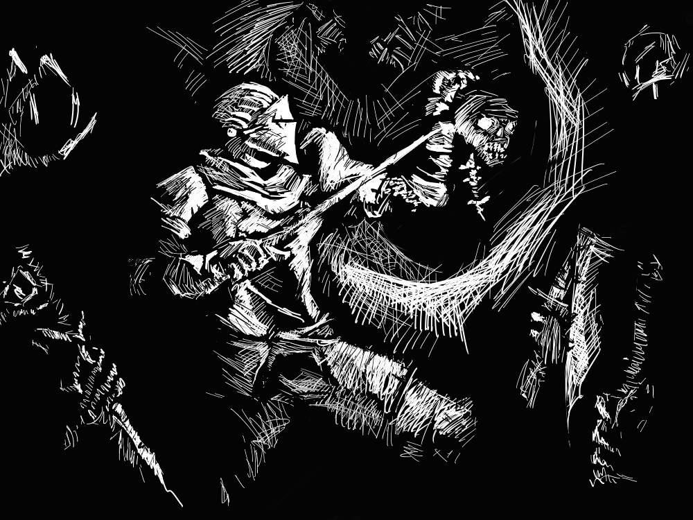 Dark Souls: Tomb of Giants by sekaiichibannobaka