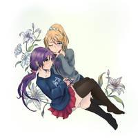 Love Live: NozoEli by sekaiichibannobaka