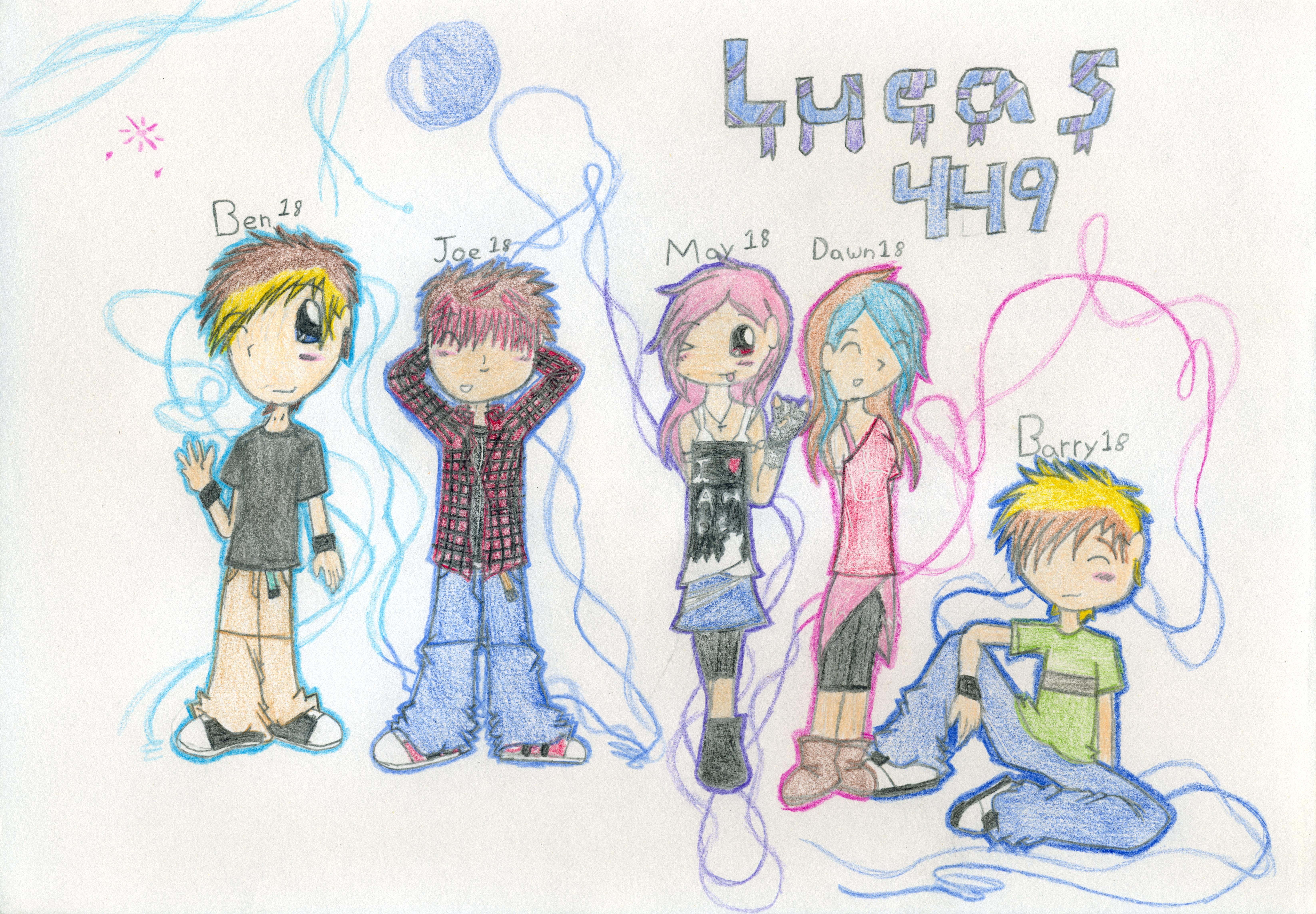 my OC's by lucas449