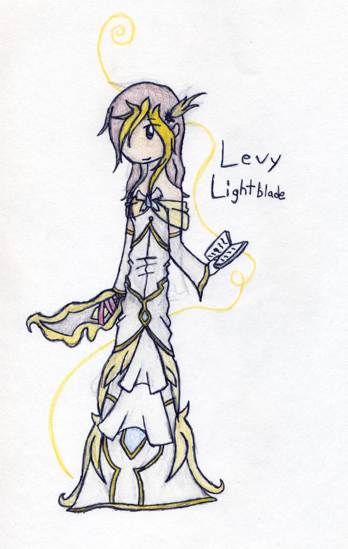 Levy Lightblade by lucas449