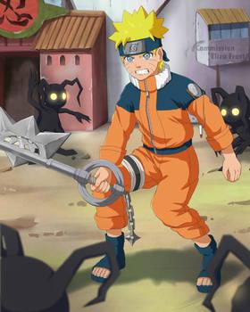 [Commission 80] Naruto and Kingdom Hearts