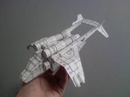Papercraft Valkyrie
