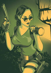 Lara Croft by TorfinShpiegel