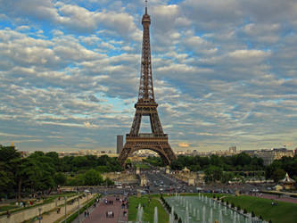 The Eiffel Tower by MJaaay